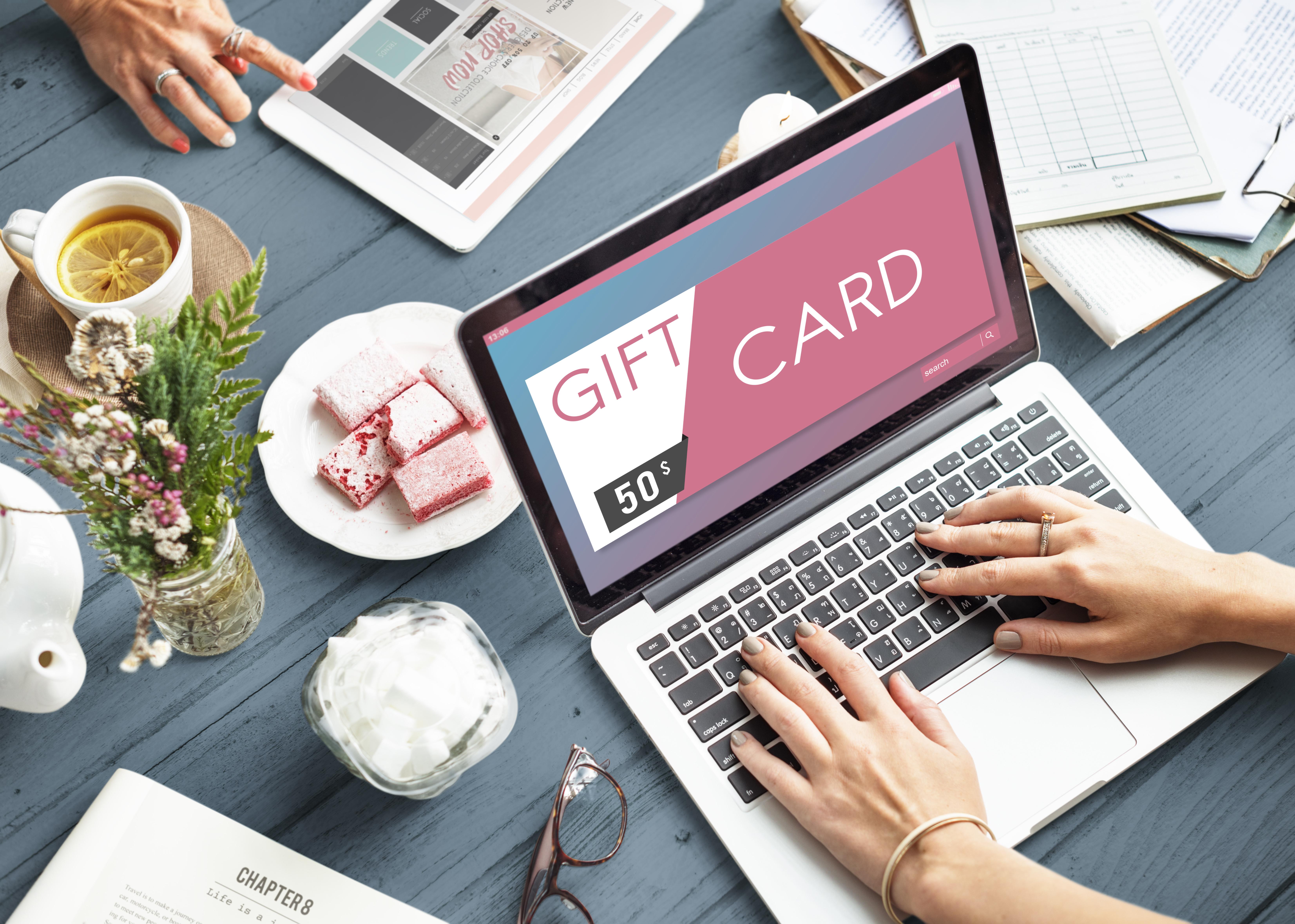 Online gift vouchers